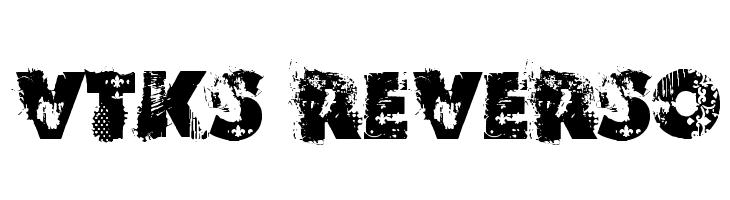 VTKS REVERSO  नि: शुल्क फ़ॉन्ट्स डाउनलोड