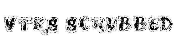 VTKS SCRUBBED  baixar fontes gratis