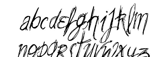 VTKS SummerLAnd Schriftart Kleinbuchstaben