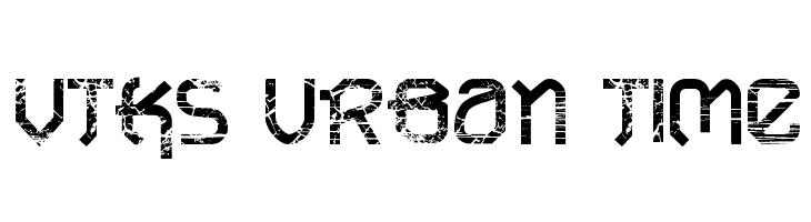 VTKS URBAN TIME  baixar fontes gratis