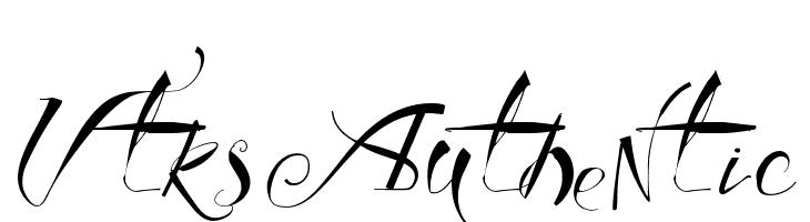 Vtks Authentic  baixar fontes gratis