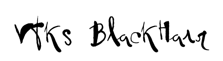 Vtks BlackHair  Free Fonts Download