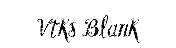 Vtks Blank  les polices de caractères gratuit télécharger