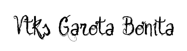 Vtks Garota Bonita  font caratteri gratis