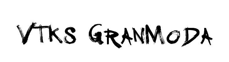 Vtks GranModa  baixar fontes gratis