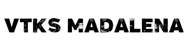 Vtks Madalena Schriftart