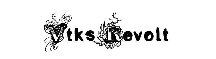 Vtks Revolt  フリーフォントのダウンロード