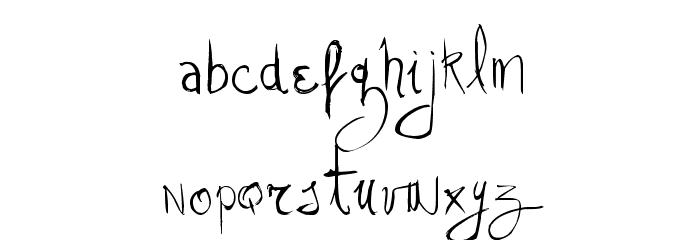 Vtks Stress Schriftart Kleinbuchstaben