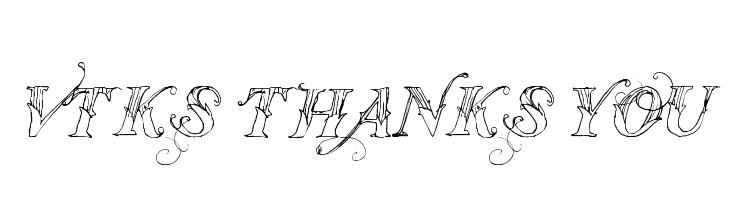 Vtks Thanks You  baixar fontes gratis