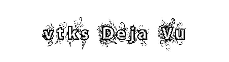 vtks Deja Vu  Free Fonts Download