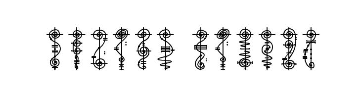 Vulcan Script  Free Fonts Download