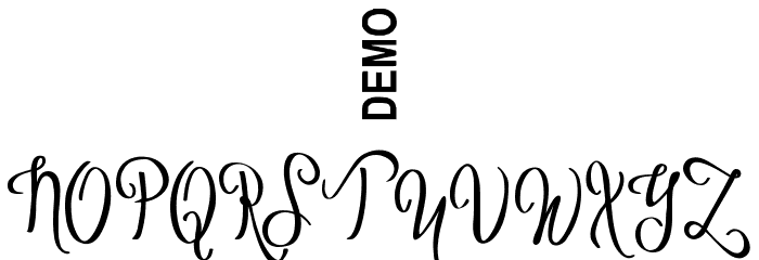 Vytorla Mix Demo Font OTHER CHARS