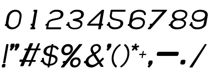 WABECO Bold Italic फ़ॉन्ट अन्य घर का काम