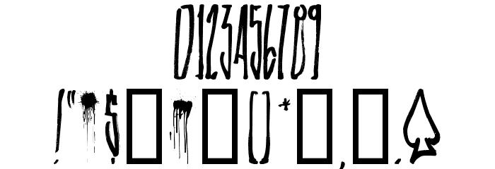 WALLRIDER Font OTHER CHARS