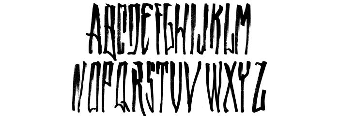 WALLRIDER Font LOWERCASE