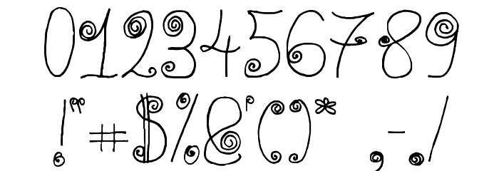 WaaibergSM Шрифта ДРУГИЕ символов