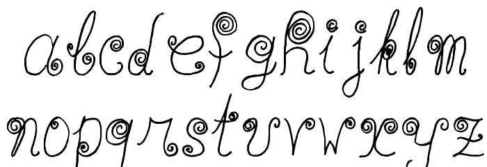 WaaibergSM Шрифта строчной