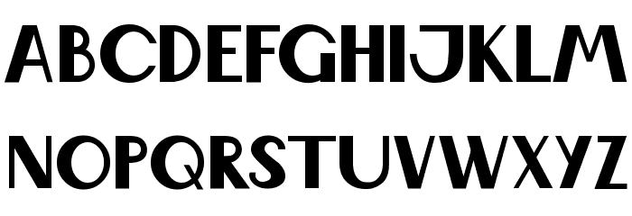 Wabene Font UPPERCASE