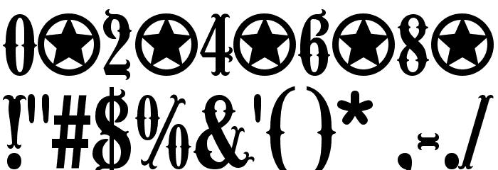 Wacam�ler-Caps Шрифта ДРУГИЕ символов
