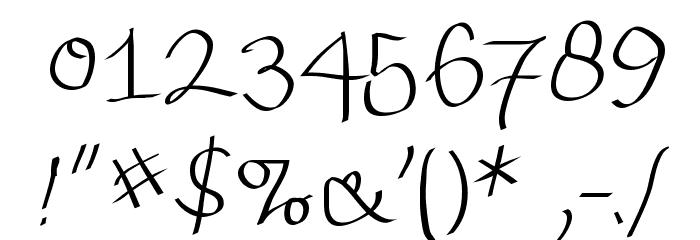 Wacomian-Regular Font OTHER CHARS