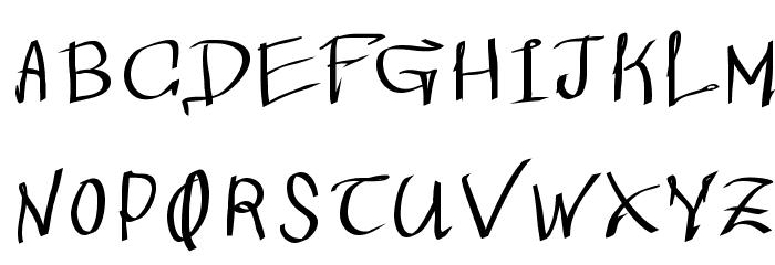 Wacomian-Regular Font LOWERCASE