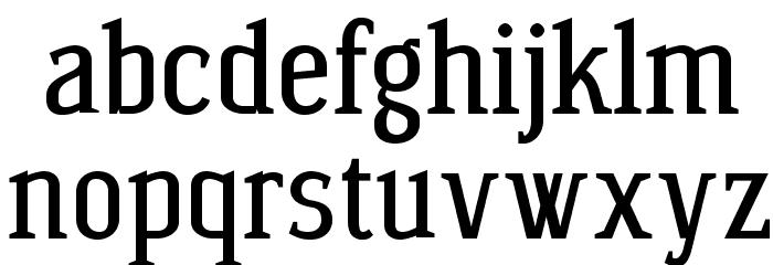 Wagashi Serif Font LOWERCASE