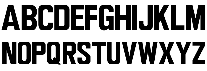 Wagner Modern Font LOWERCASE