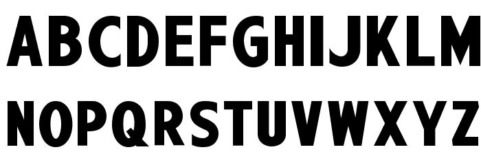 Wagner Zip-Change Font LOWERCASE