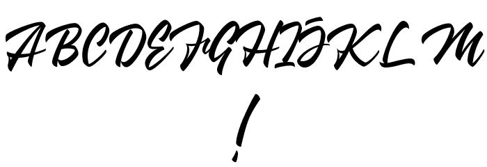Wakanda 字体 其它煤焦
