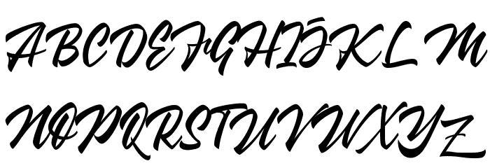 Wakanda 字体 大写