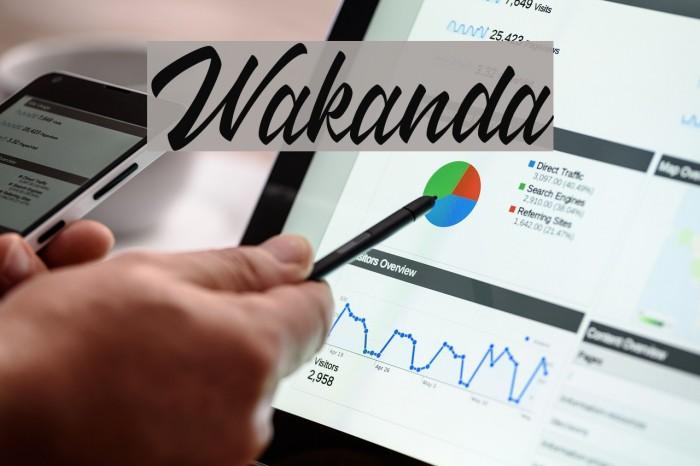 Wakanda 字体 examples