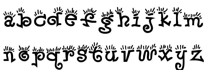 Waker Font LOWERCASE