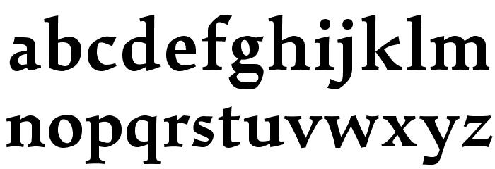 Walleye-Bold Font LOWERCASE