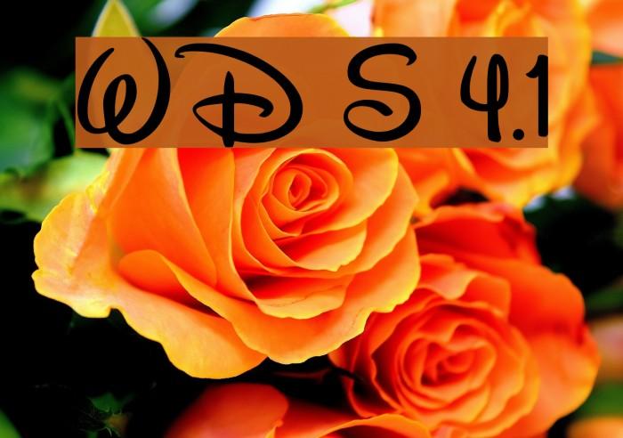 Walt Disney Script v4.1 Fuentes examples
