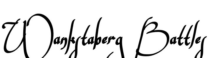 Wankstaberg Battles  baixar fontes gratis