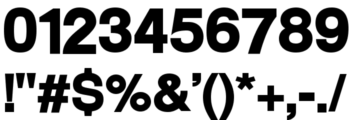 Warownia Ultra Extended Font OTHER CHARS