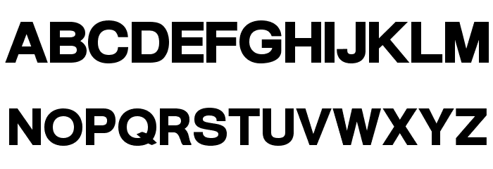 Warownia Ultra Extended Font UPPERCASE