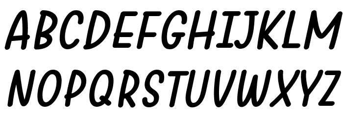 Warung Kopi Italic Fonte MAIÚSCULAS