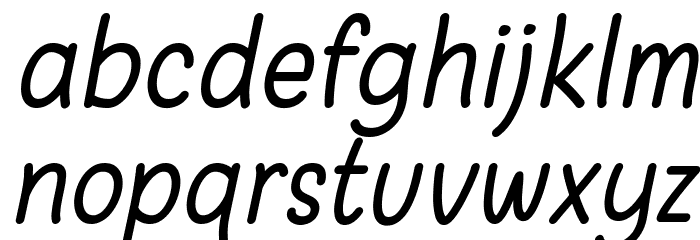 Warung Kopi Light Italic Fonte MINÚSCULAS