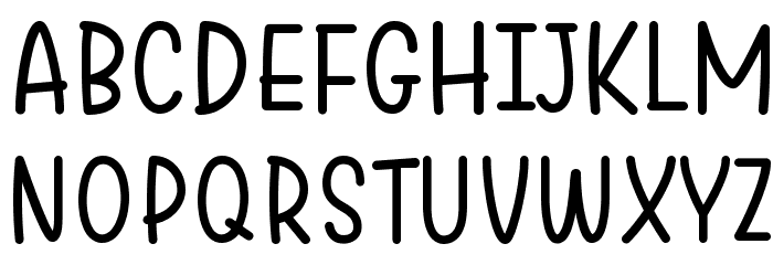 Warung Kopi Font UPPERCASE