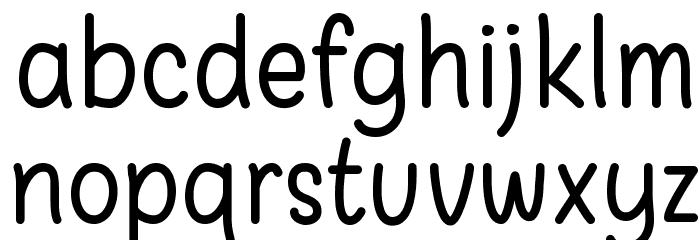 Warung Kopi Font LOWERCASE
