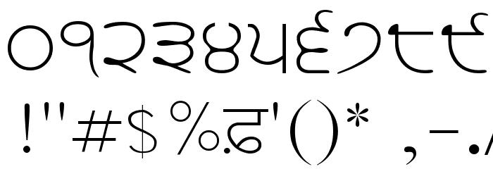 WebAkharSlim Шрифта ДРУГИЕ символов