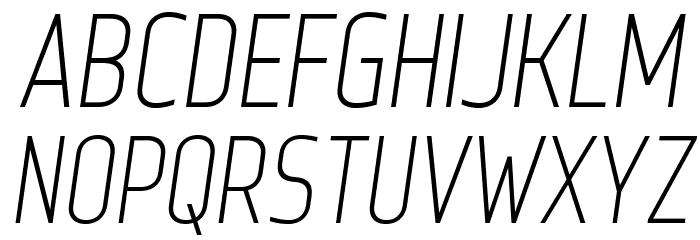 WebServeroff-Italic Font UPPERCASE