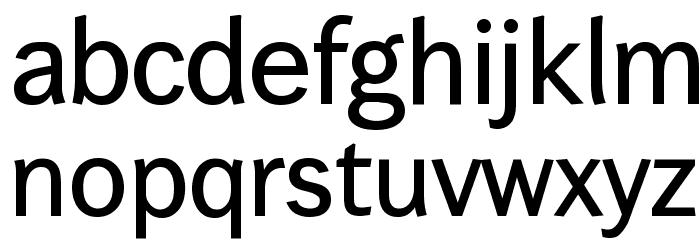 Wendelin-Krftig Font Litere mici