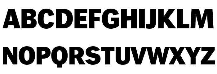 WendelinReduced-Fett Шрифта ВЕРХНИЙ