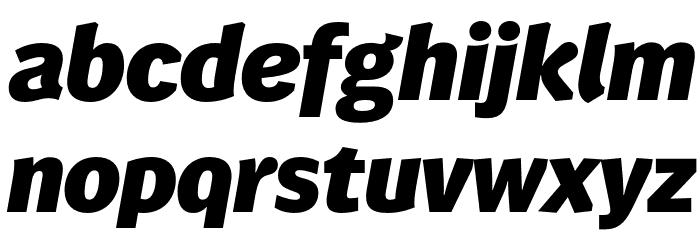 WendelinReduced-FettKursiv फ़ॉन्ट लोअरकेस