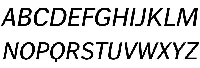 WendelinReduced-KraeftigKursiv Font UPPERCASE