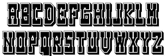 Westerngames Regular Font LOWERCASE