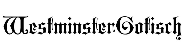 WestminsterGotisch  لخطوط تنزيل