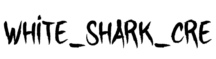 WHITE_SHARK_CRE  Free Fonts Download